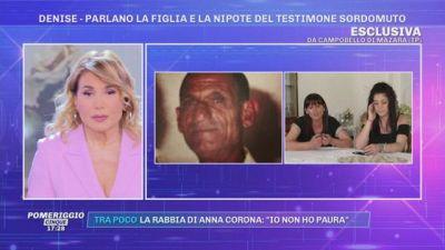 La scomparsa di Denise Pipitone: parlano la figlia e la nipote del testimone sordomuto
