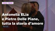 Antonella Elia e Pietro Dalle Piane, tutta la storia d'amore