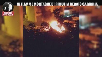 Incendi a Reggio Calabria, in fiamme montagne di rifiuti