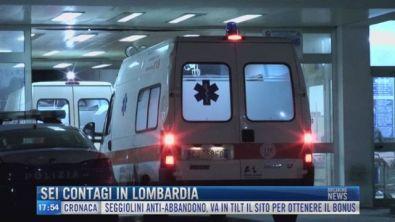 Breaking News delle 18.00 | Sei contagi in Lombardia