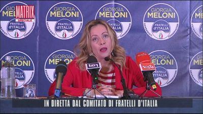Il commento di Giorgia Meloni
