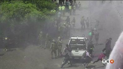 Rivolta in Cile