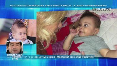 Il selfie di Cristiana e Diego Matias