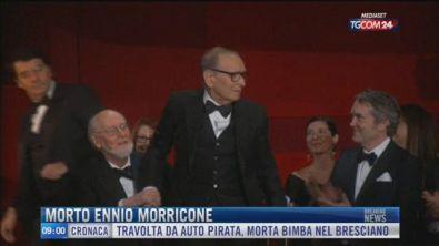 Breaking News delle 09.00 | Morto Ennio Morricone