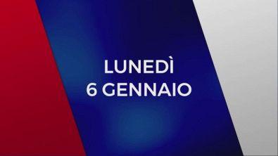 Stasera in Tv sulle reti Mediaset, 6 gennaio
