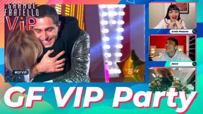 GF Vip Party Ep. 57: ultima puntata, Awed e Annie Mazzola commentano la finale del Grande Fratello Vip