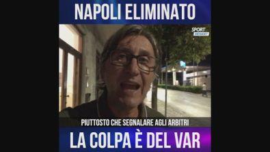 """Auriemma: """"Napoli eliminato per colpa del Var"""""""