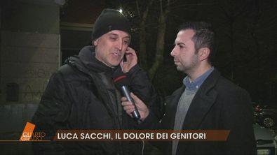 Omicidio Sacchi, parla il padre di Luca