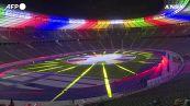 Euro2024, svelato il logo all'Olympiastadion di Berlino