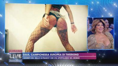 Gaia, campionessa europea di Twerking