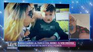 Paola Caruso al parco col bimbo, il web insorge