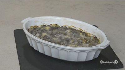 Lasagne spinaci e ricotta senza besciamella