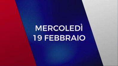 Stasera in Tv sulle reti Mediaset, 19 febbraio