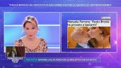 Manuela Ferrera: ''Paolo Brosio ha provato a baciarmi''