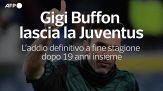 Gigi Buffon lascia la Juventus