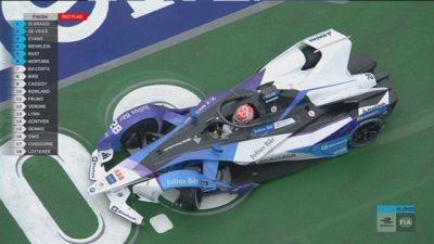 E-Prix Londra: guai BMW, Guenther va fuori pista