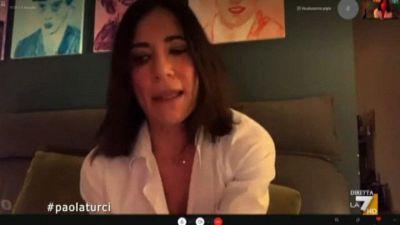 Paola Turci: chi mi insulta sui social è prevalentemente leghista