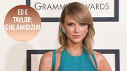 Taylor Swift prende in giro Ed Sheeran
