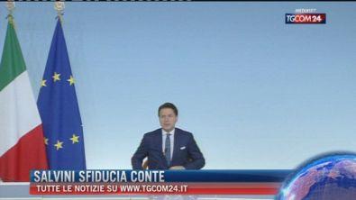 Breaking News delle ore 11.00: Salvini sfiducia Conte