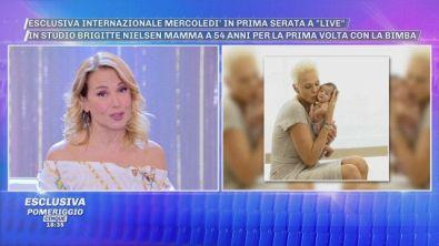 """Esclusiva internazionale: Brigitte Nielsen a """"Live: Non è la D'Urso"""""""