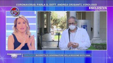 Coronavirus: parla il Dott. Andrea Crisanti virologo