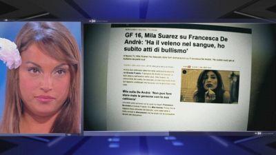 Francesca vs Mila: scontro senza fine