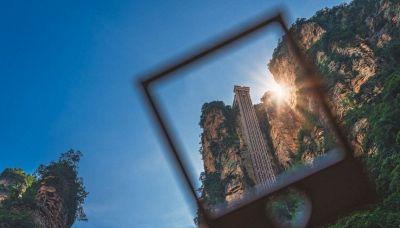 Bailong, l'ascensore più alto del mondo: 326 metri