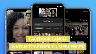Facebook lancia Watch Together su Messenger