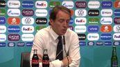 """Europei, Mancini: """"Volevamo fare la nostra partita, la Spagna e' una grande squadra"""""""