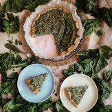 Torta Salata con Spinaci e Ricotta Senza Glutine