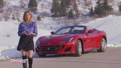 La Ferrari Portofino su una mitica cronoscalata