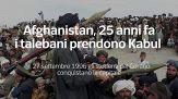 Afghanistan, 25 anni fa i talebani prendono Kabul
