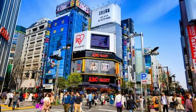 Il gigantesco gatto in 3D che ha incantato Tokyo