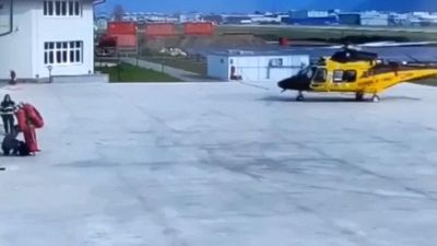 L'elicottero da 10 milioni si distrugge in pochi secondi