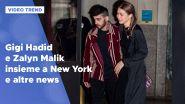 Gigi Hadid e Zayn Malik insieme a New York e altre news dalle star