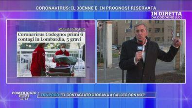 Coronavirus: In diretta dall'Ospedale di Codogno