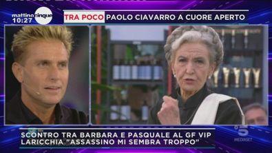 GFVIP: Barbara Alberti vs Pasquale