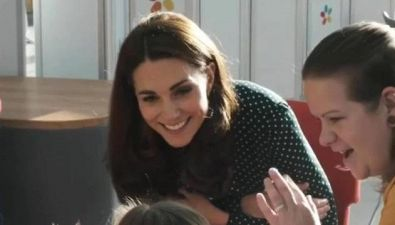 Kate 'patrona' dell'Evelina London Children's Hospital