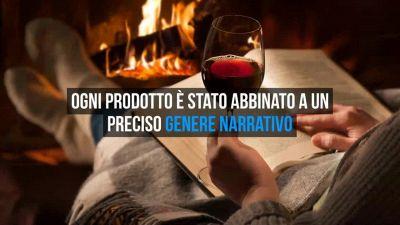 Vini da leggere: al posto dell'etichetta del vino, c'è un racconto