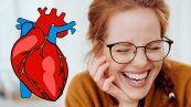 Ridere fa bene al cuore: ecco perché