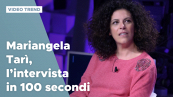 Mariangela Tarì, l'intervista in 100 secondi