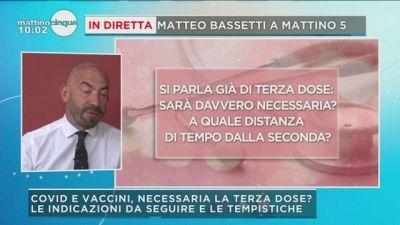 """Terza dose, Bassetti: """"Non chiamiamola così, sarà richiamo annuale"""""""