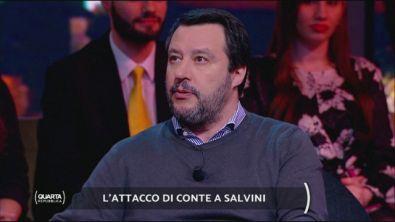 Salvini è diventato l'avversario principale di Conte?