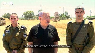 "Israele, Netanyahu: ""Continueremo a colpire Hamas"""