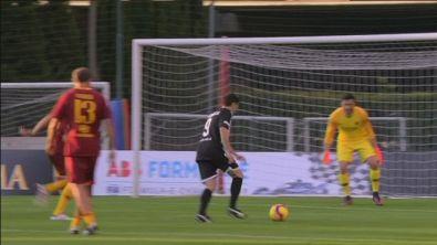 Roma Legens-Nazionale Piloti: gol di Fisichella