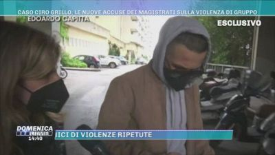 Caso Ciro Grillo, le nuove accuse dei magistrati sulla violenza di gruppo