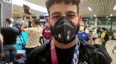 Tokyo 2020, bentornati ragazzi: gli atleti azzurri riportano a casa le medaglie