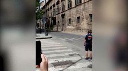 Palermo, lo spot con l'auto F1 Red Bull fa impazzire il traffico