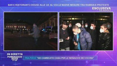 Covid-19, La proteste a Milano e Napoli