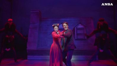 "Mary Poppins in musical ""vola'' in teatro a Roma Return to List"